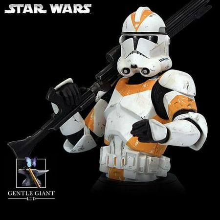 Star Wars Clone Trooper Rots Mini Bust - Star Wars Oranges