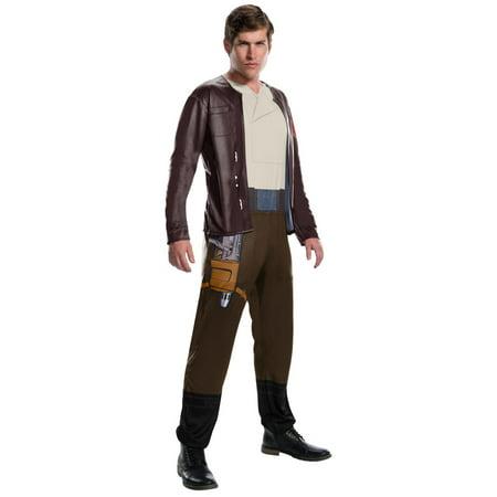 Star Wars Episode VIII - The Last Jedi Men's Poe Dameron Costume