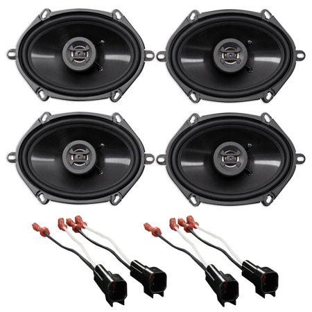 Hifonics 6x8 Front Rear Speaker Replacement For 01 05 Ford Explorer Sport Trac