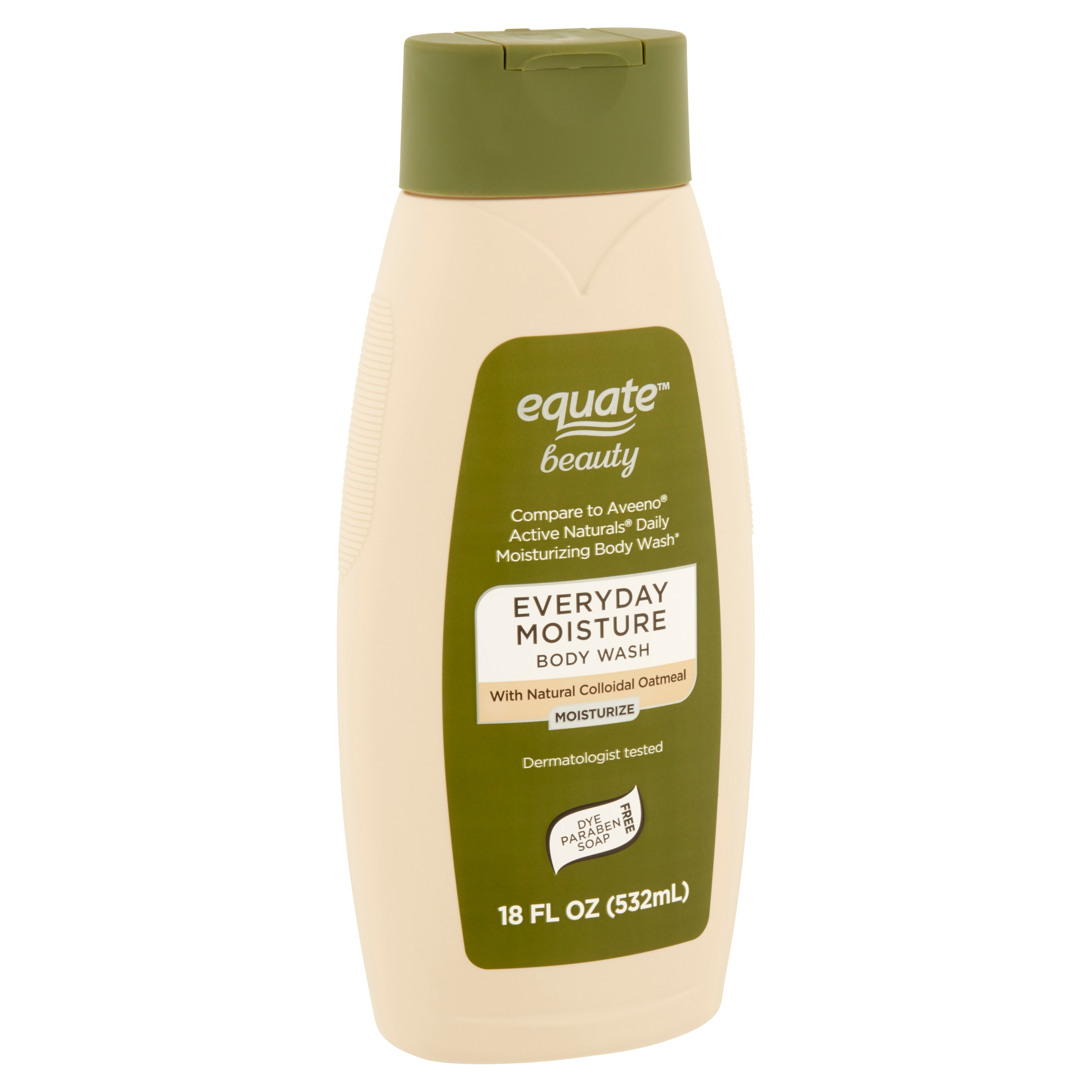 Equate Beauty Everyday Moisture Body Wash, 18 fl oz