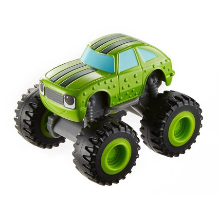Brig Ship (Fisher-Price Nickelodeon Blaze & the Monster Machines, Pickle Vehicle, These monster trucks feature big wheels and even bigger personalities By FisherPrice Ship from)