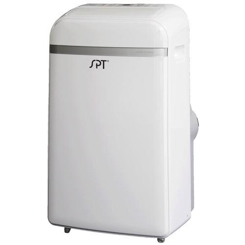 Sunpentown WA-1240H 12,000-BTU Room Portable Air Conditioner with Supplemental 11,000-BTU Heater