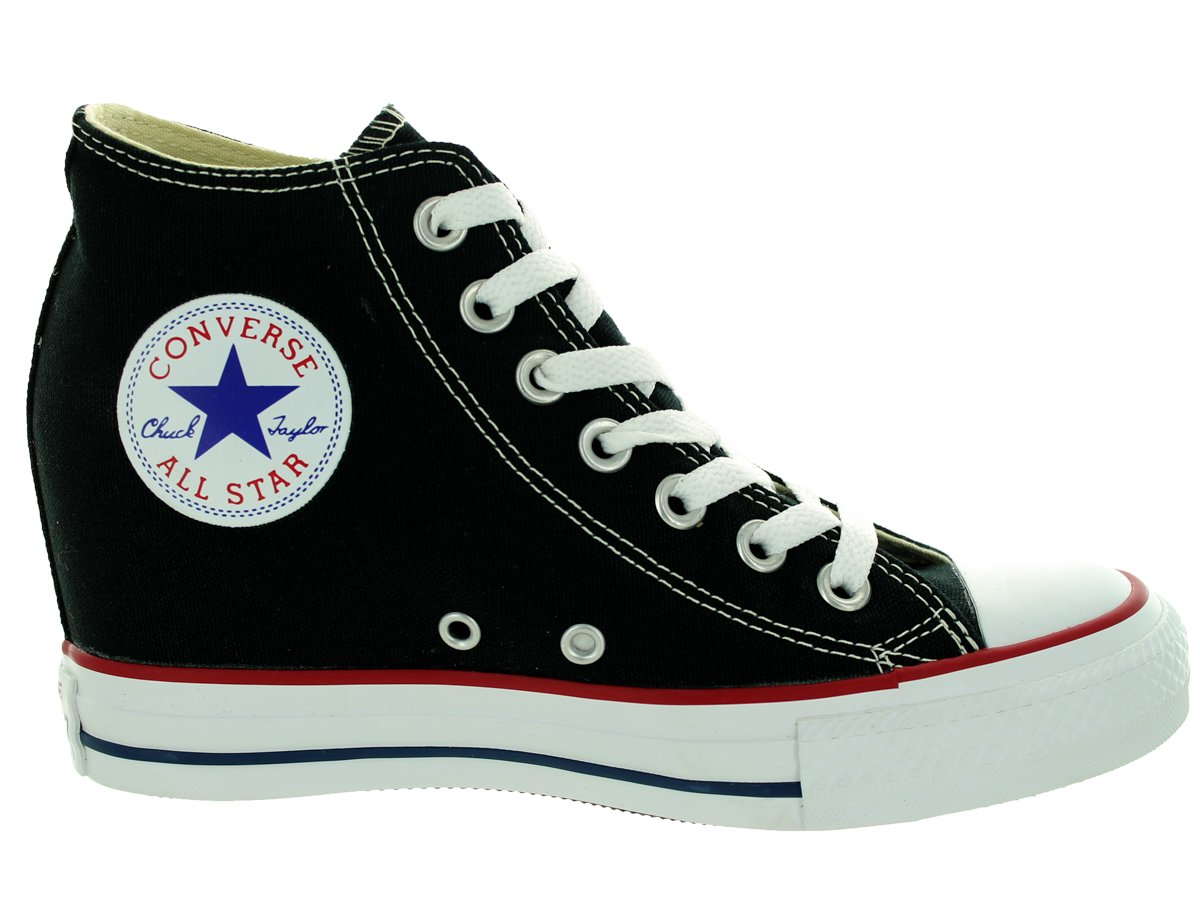 Converse Chuck Taylor Lux Mid Sneakers Black