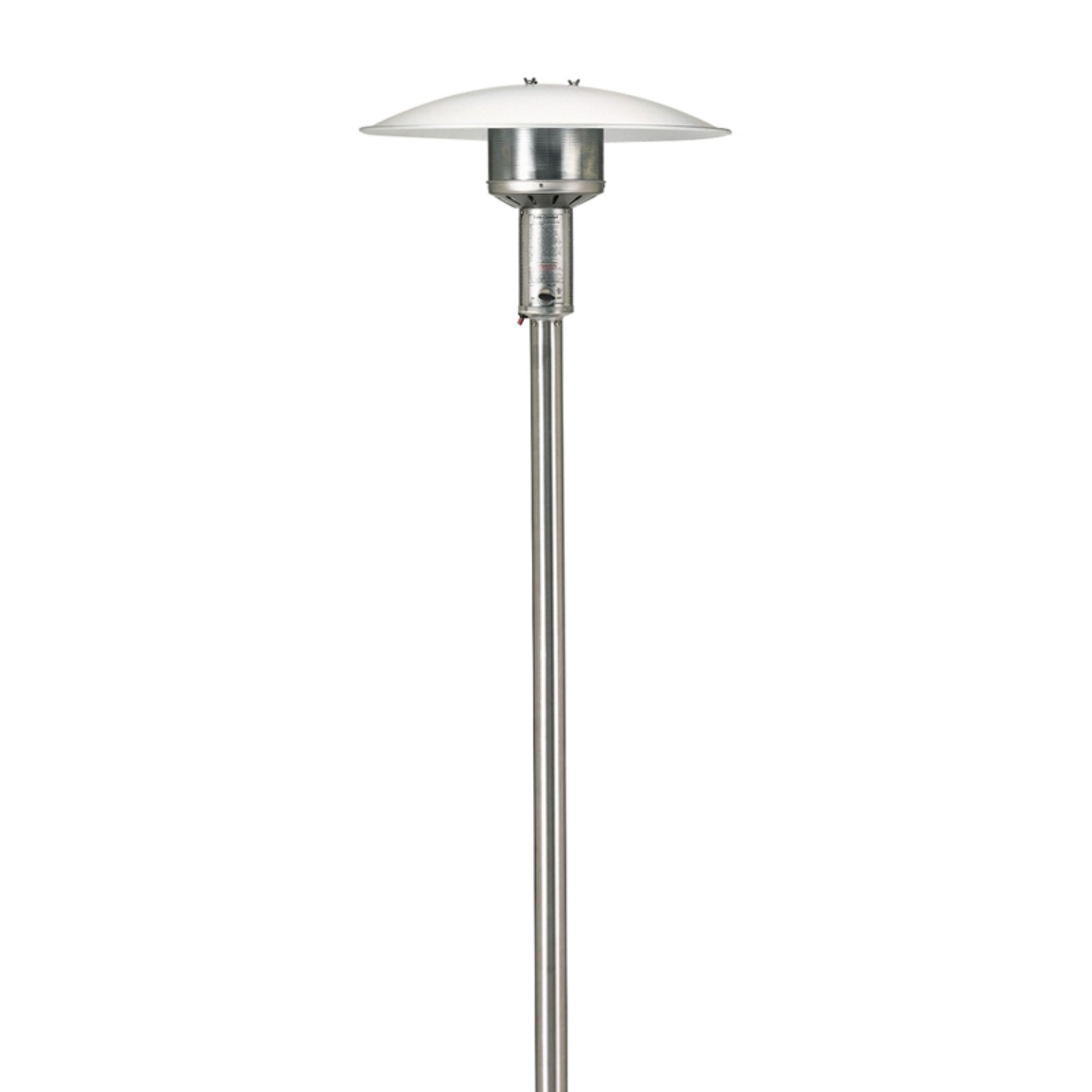 Patio Comfort Natural Gas Permanent Post Patio Heater by AEI Corporation