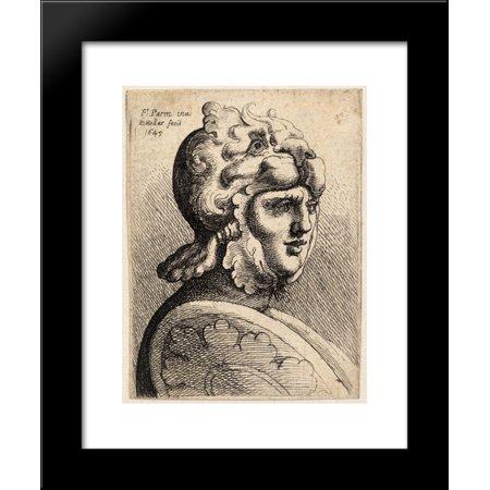 Helmet shaped like lion 20x24 Framed Art Print by Parmigianino, Girolamo