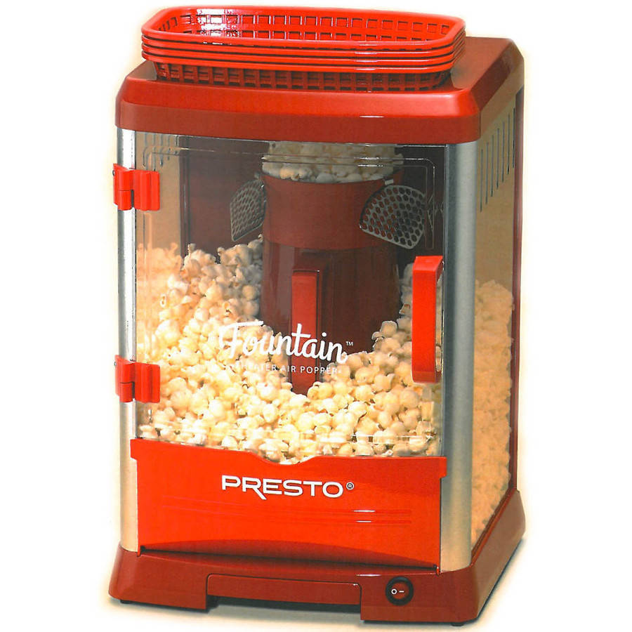 Presto Fountain Theater Hot Air Popper