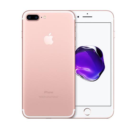 Refurbished Apple Iphone 7 Plus 128gb Rose Gold Unlocked Gsm Walmart Com Walmart Com