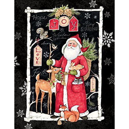LANG WOODLAND CHRISTMAS ASSORTED TWO SET CHRISTMAS CARD ()