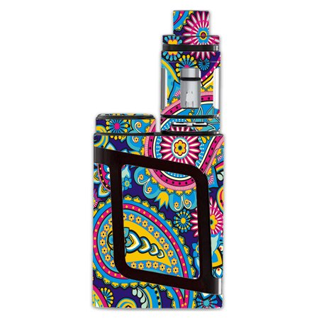 - Skins Decals For Smok Al85 Alien Baby Kit Vape Mod / Colorful Paisley Mix
