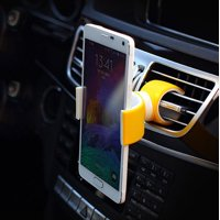 360 Degree Air Vent Mount Bicycle Car Cell Phone Holder For 3.5-6.0inch Phone YE