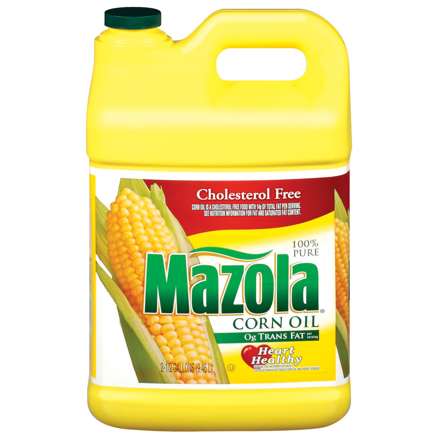 Mazola 100% Pure Corn Oil, 2.5 gal