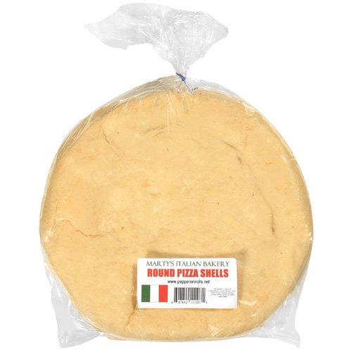 Marty's Itallian Bakery: Round Pizza Shells, 2 Ct