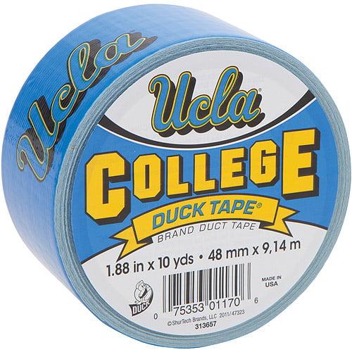 "Duck Brand Duct Tape, College Logo Duck Tape, 1.88"" x 10 yard, UCLA Bruins"