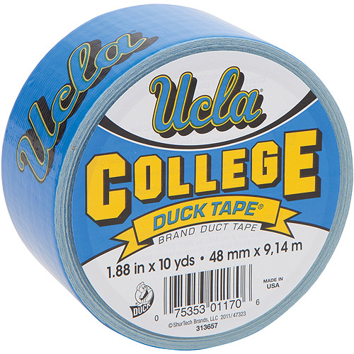 "Duck Brand Duct Tape, College Logo Duck Tape, 1.88"" x 10 yard, UCLA Bruins"