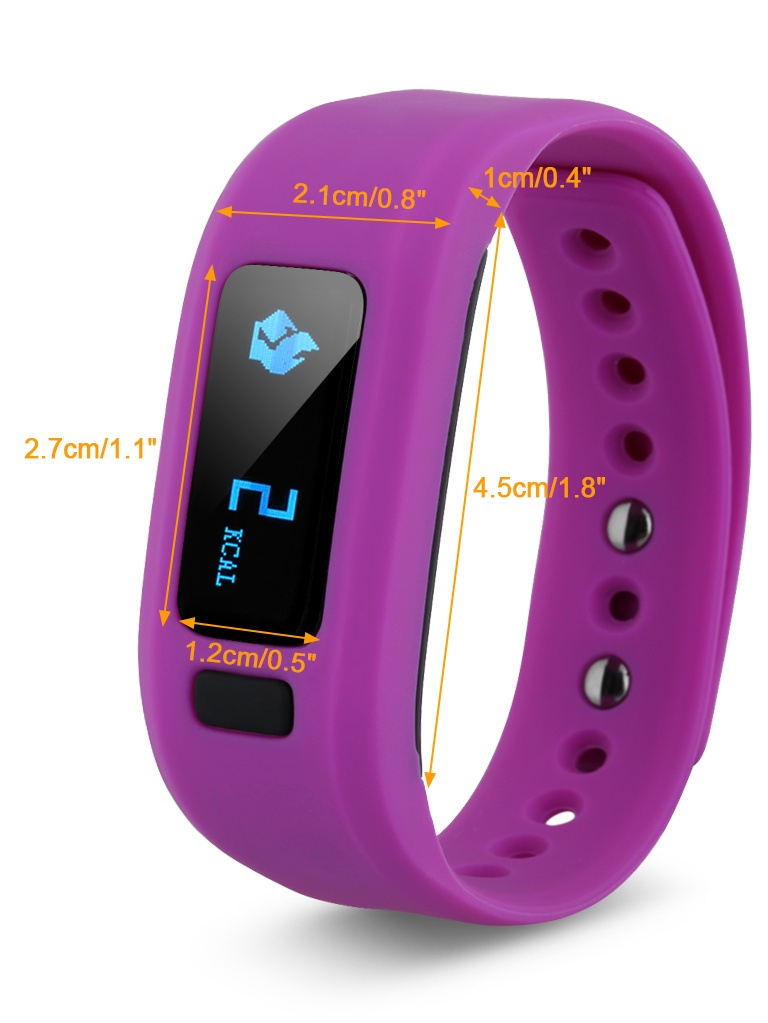 Excelvan Smart Healthy Bracelet Watch Bluetooth Wristband Pedometer Sleep Monitoring Tracking Calorie For Android And Ios Walmart Com Walmart Com