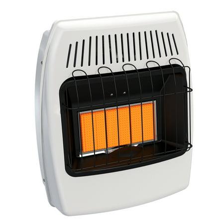 - Dyna-Glo 18,000 BTU Liquid Propane Infrared Vent Free Wall Heater