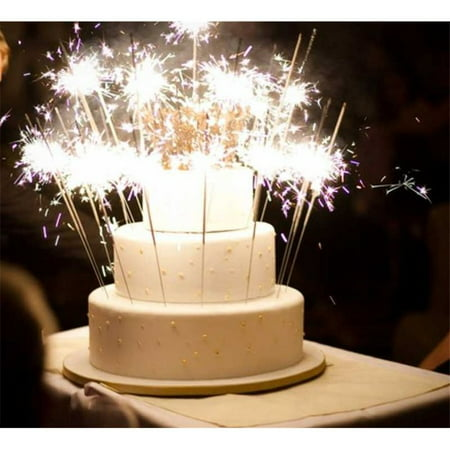 Cake Sparklers Candles 8 Count