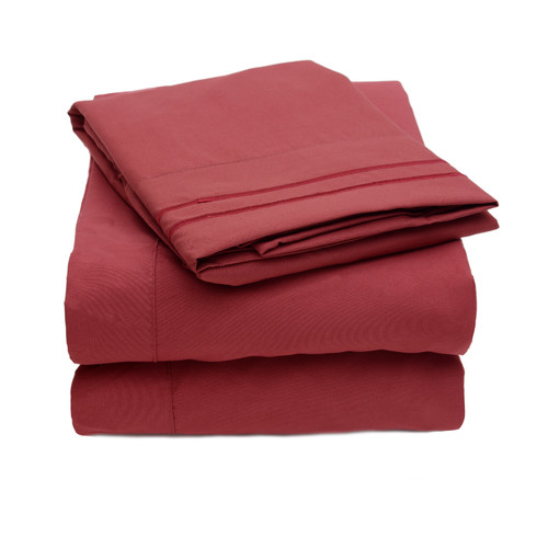 Sweet Home Collection Madame Marie Polyester Sheet Set