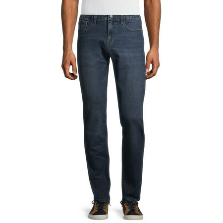 IZOD Men's Big and Tall Regular Fit Tapered Jeans