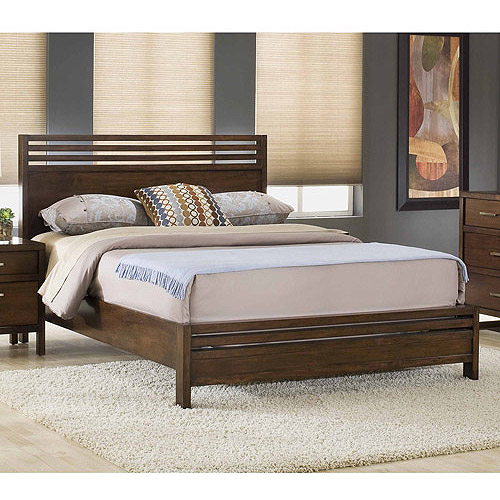 Modus Furniture Uptown Queen Platform Bed, Truffle