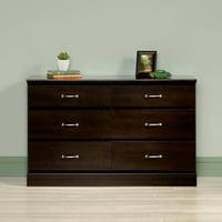 Sauder Parklane Contemporary 6-Drawer Dresser, Multiple Finishes