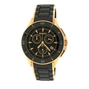 Roberto Bianci 5873U Rose Goldplated Black Ceramic Chronograph Watch