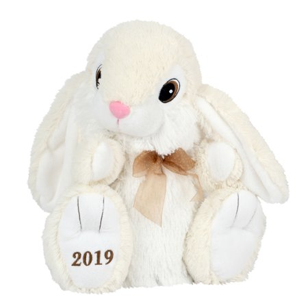 Make Easter Bunny (Way to Celebrate Cream Hopster Bunny 2019 Plush )