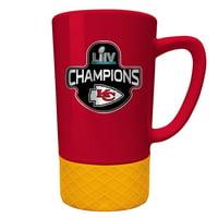 Kansas City Chiefs Super Bowl LIV Champions 15oz. Jump Mug