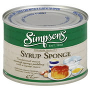 Simpsons, Simpsons Syrup Sponge Pudding, 10.5 OZ (Pack of 8)