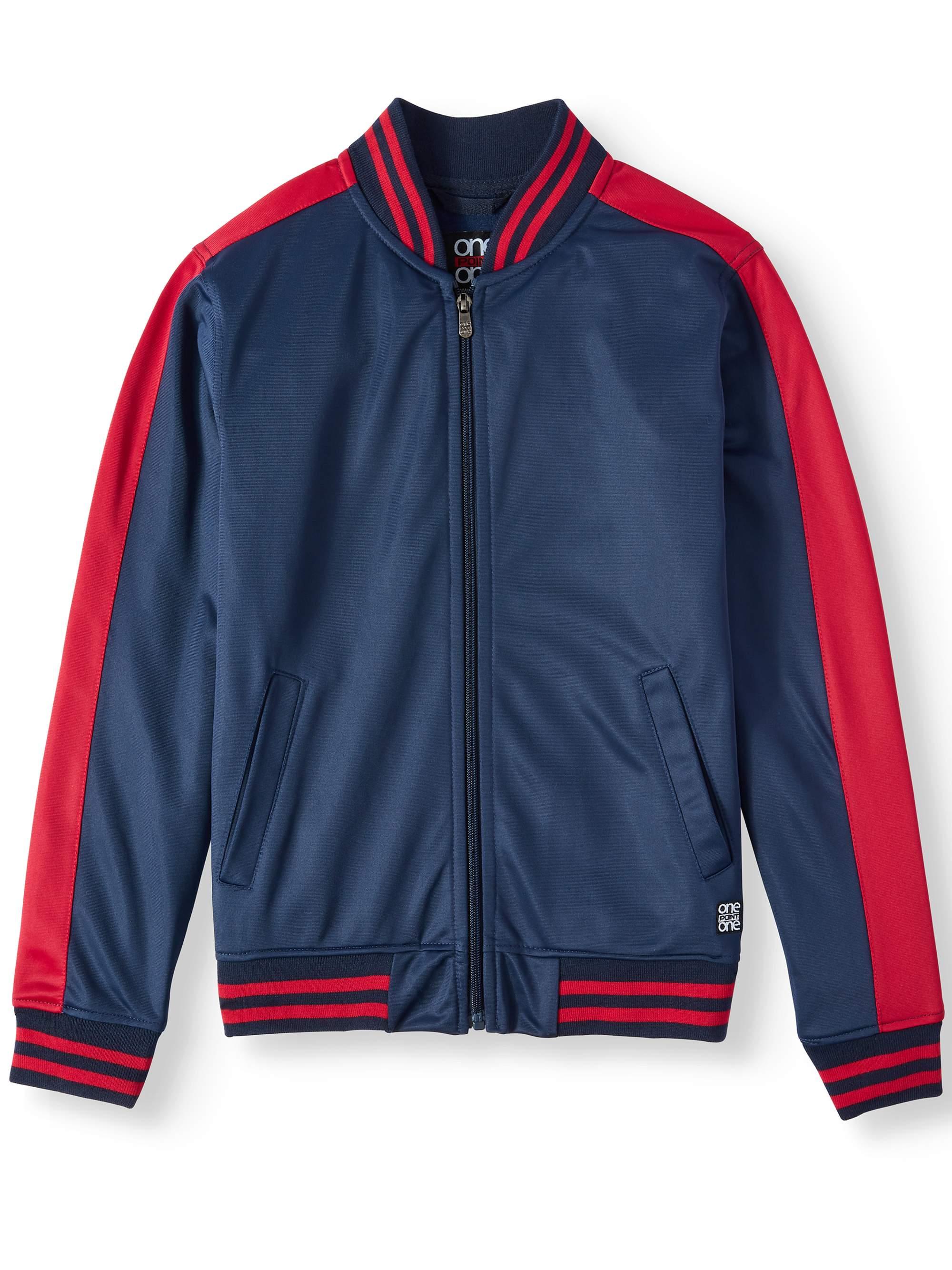 Tricot Performance Zip Up Jacket (Big Boys)