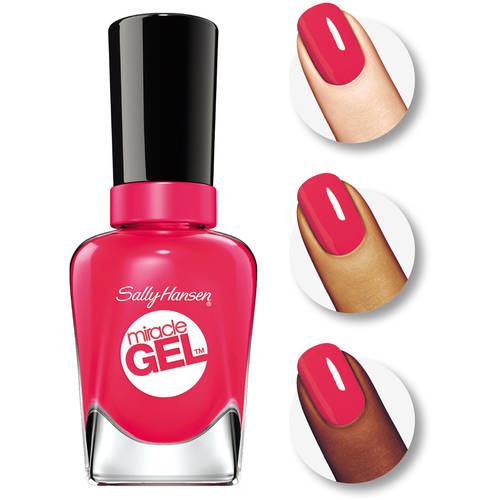 Sally Hansen Miracle Gel Nail Polish, Birthday Suit, 0.5 fl Oz