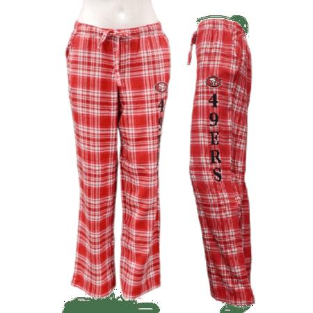 Adult Flannel Plaid Pajama Lounge Sleep Pants Retro PJ Women's Unisex