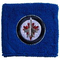 "Franklin Sports NHL Winnipeg Jets 2.5"" Embroidered Wristbands"