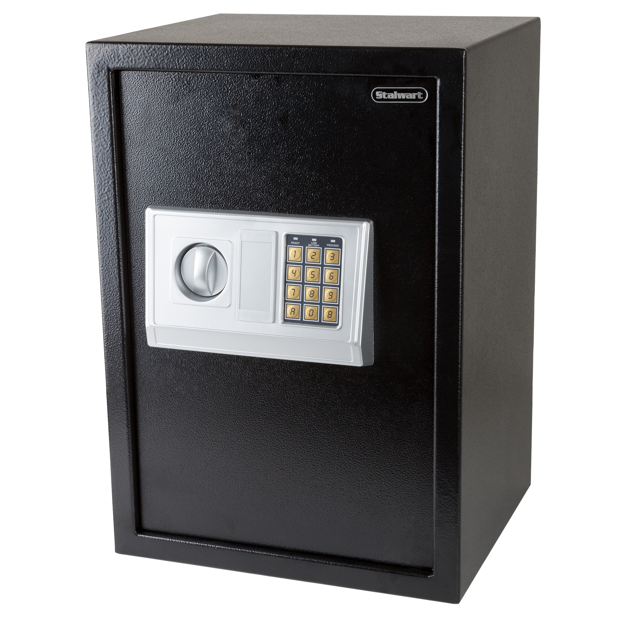 Digital Safe-Electronic, Extra-Large, Steel, Keypad, 2 Manual Override Keys by Stalwart