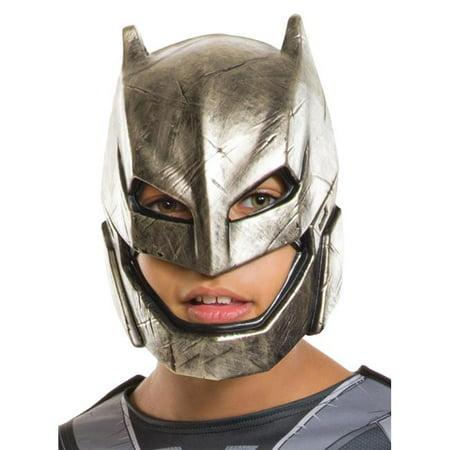 Doj Batman Armored Child Mask - Batman Armor For Sale