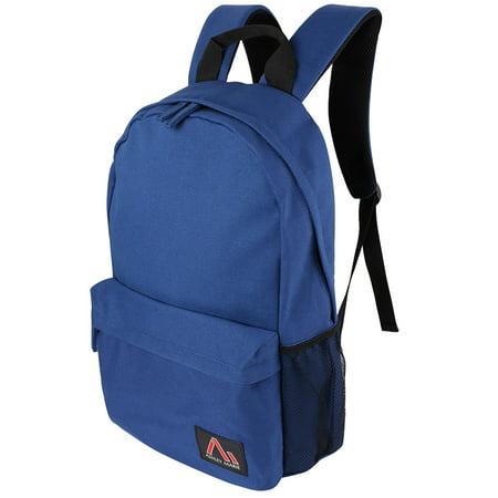 Casual Canvas Laptop Backpack 15 14 13 Inch Waterproof School Bookbag College Travel Backpack for Men Women MacBook Notebook Surface Book iPad Pro
