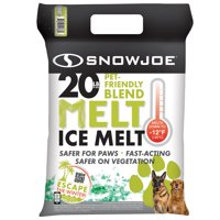 Snow Joe MELT20PET Pet Friendly Premium Ice Melt | 20-LBS | Safe for Paws