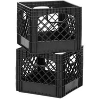 Deals on 2-Pack Buddeez Classic Milk Storage Crate