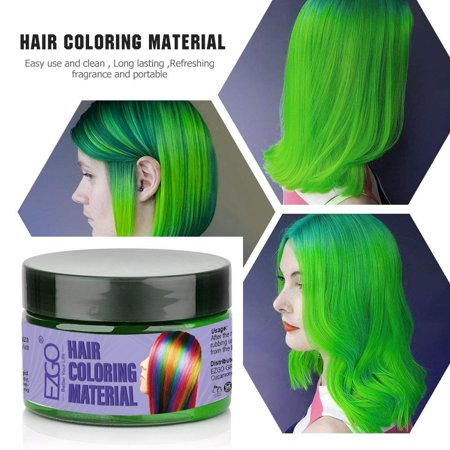 Hair Color Wax, Instant Hair Wax, Temporary Hairstyle Cream Hair Pomades, Natural Hairstyle Wax for Men and Women - Mens Hairstyles Of The 1920s