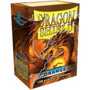 Card Supplies Dragon Shield Orange Card Sleeves [100 ct]