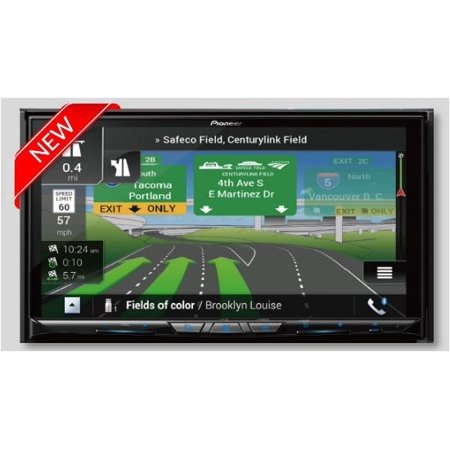Pioneer AVIC-W8500NEX Navigation AV Receiver with 7