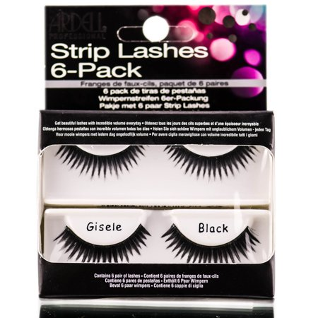 Ardell Strip Lashes 6-Pack ( Gisele (Lashes 6 Pack Refills)