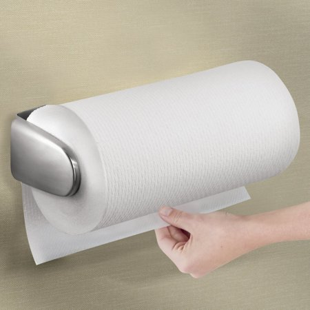 Mdesign Paper Towel Holder For Kitchen Wall Mountunder Cabinet
