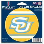 Southern University Jaguars WinCraft 5'' x 5'' Die Cut Indoor/Outdoor Car Magnet