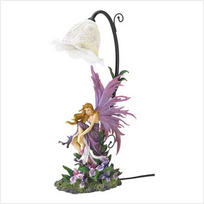 Zingz and Thingz Orchid Fairy Table Lamp