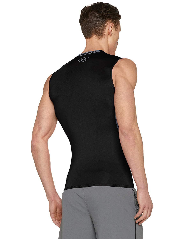 3f4f5678 Under Armour Men's HeatGear Armour Sleeveless Compression Shirt