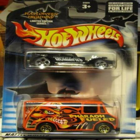 Hot Wheels 2002 Halloween Highway 2 Pack: The Demon & Combat Ambulance