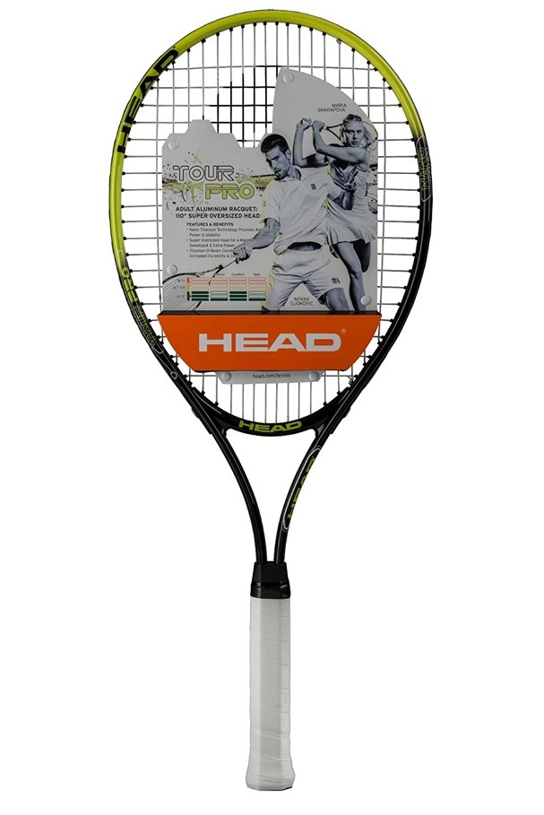 HEAD Tour Pro Nano Titanium Tennis racket 4-1 4 grip by