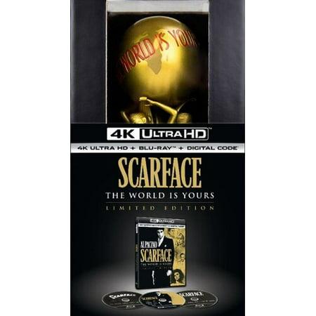Scarface (Limited Edition Giftset) (4K Ultra HD + Blu-ray + Digital Copy) Crow Limited Edition