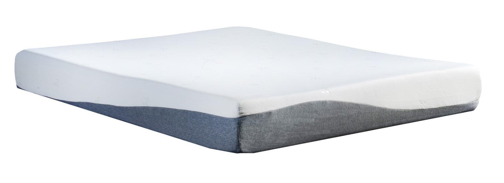 "10"" High-Density Gel & Memory Foam King Size Mattress, W Bamboo Cover� by"